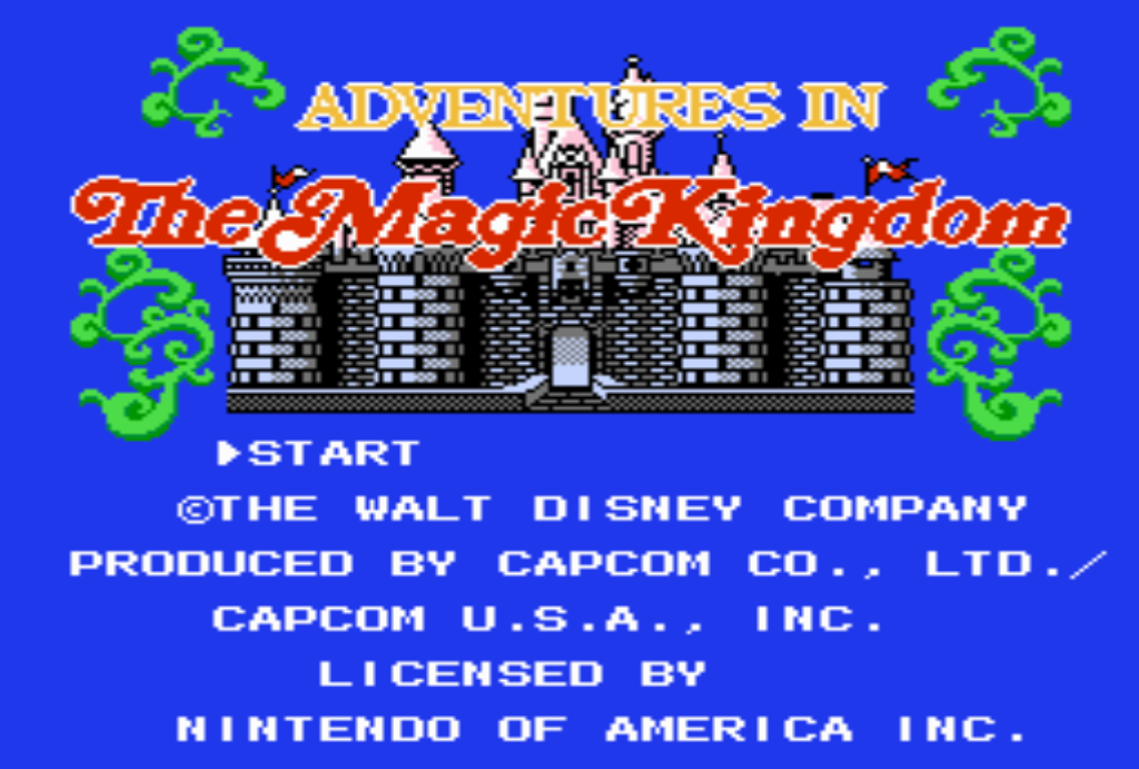 Adventures in the Magic Kingdom