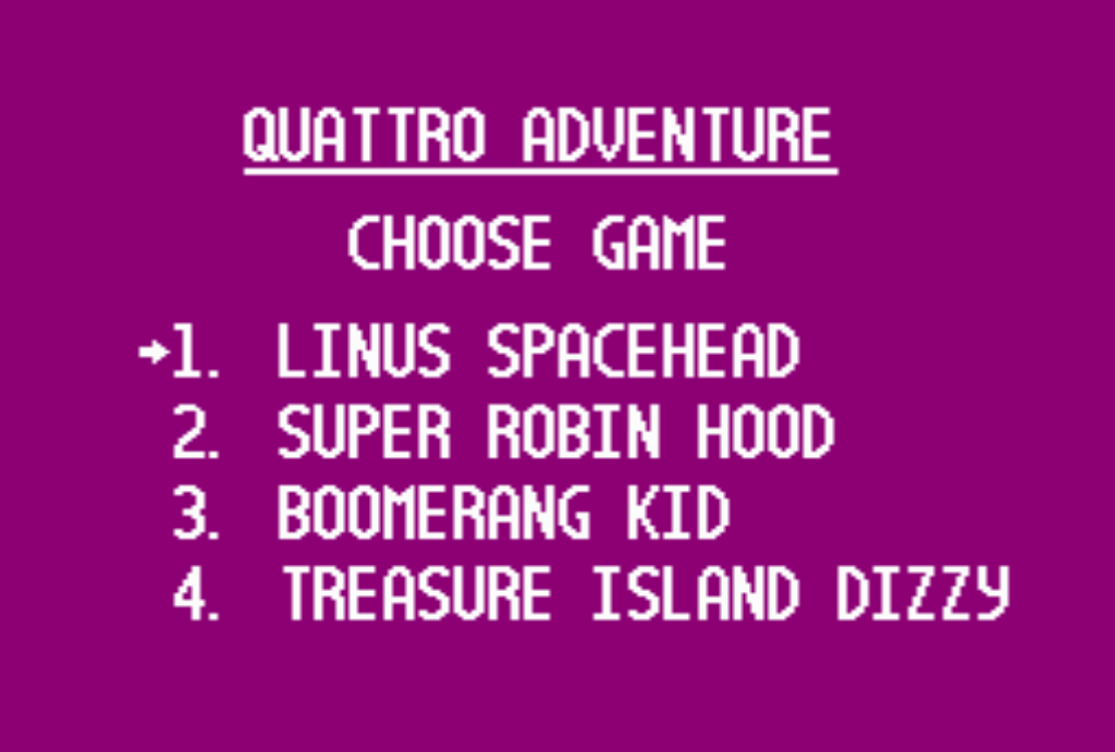 Сборник Quattro Adventure 4-in-1